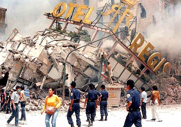 Guatemala earthquake, 1976, claims 35,000 lives