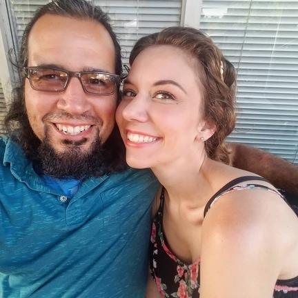 Mike and Lauren in LA in 2019