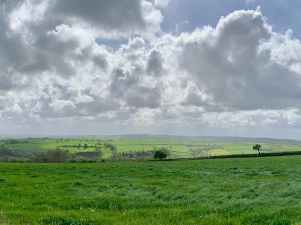 View towards Llanboidy from near Baenwaun