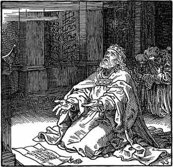 Hezekiah prays -