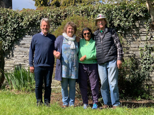 Danish students to the Bible College of Wales, Spring 2021 term