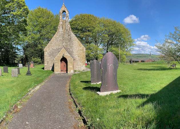Our new view from Betws Ifan churchyard