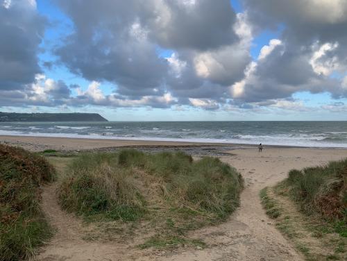 Pen Bryn beach
