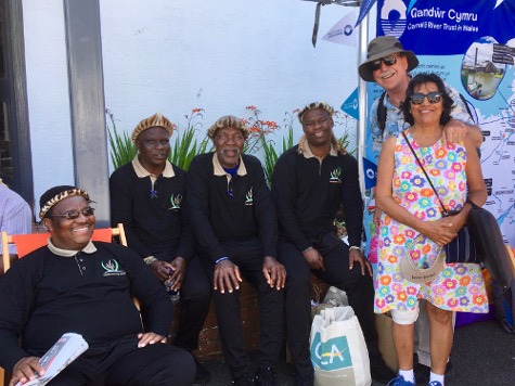 South African visitors to Royal Welsh Show, 2019