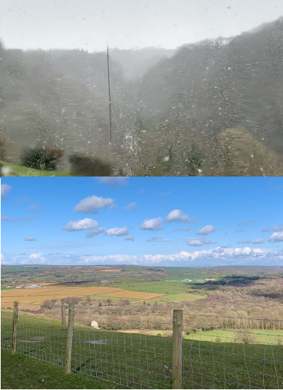 Wild weather variables in one day