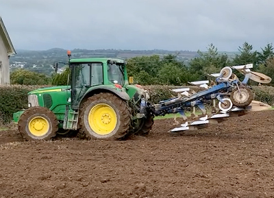 Turning the plow shares